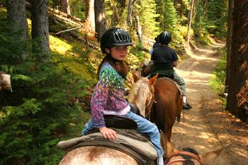 Horseback riding at Valhalla Resort & Vacation.