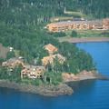 Aerial View of Superior Shores Resort