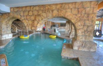 Condo Swimming Pool Area at Condolux Vacation Rentals