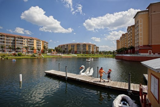 Lake view at Westgate Town Center.