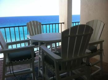 Balcony view at One Seagrove Place.