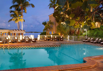 Outdoor pool at Pier House Resort & Spa.