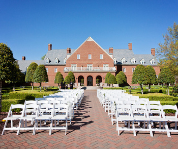 Outdoor Ceremony Site at The Founders Inn