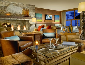 Lobby view at The Osprey at Beaver Creek, A Rock Resort.