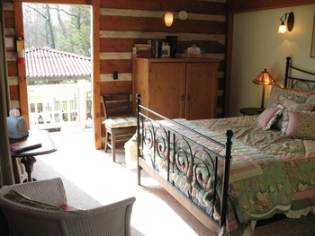 Guest Room at Mountain Hearth Lodge