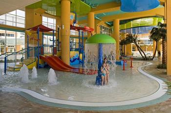 Waterpark at Splash Resort.