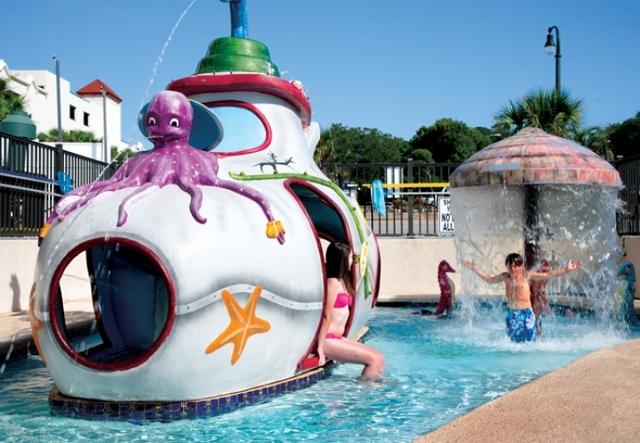 Kiddie pool at Caribbean Resort & Villas.