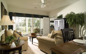 Champions accommodations at Sea Trail Resort.