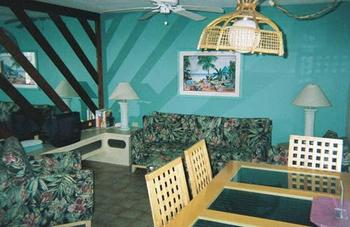 Vacation rental interior at Sea Oats Beach Club.