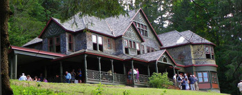 The Only Remaining Gilded Age Great Camp in the Catskills