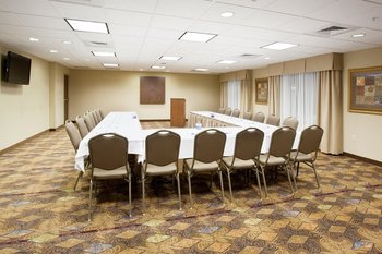 Conference room at Holiday Inn Express & Suites Lander.