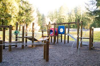 Kid's playground at Luxury Getaways.