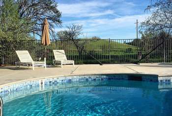 Outdoor pool at Capay Valley Bed & Breakfast.