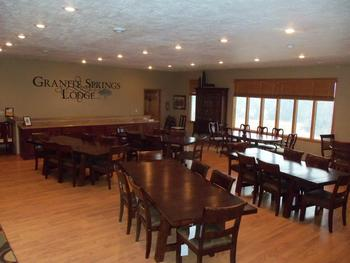 Conference room at Granite Springs Lodge.