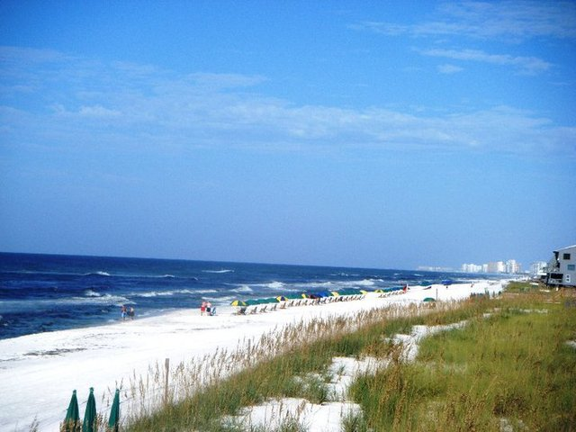 Beach view at Newman-Dailey Resort Properties, Inc.