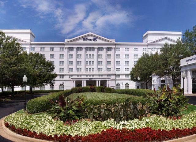 Hilton atlanta marietta hotel conference center for Cabins near marietta ga