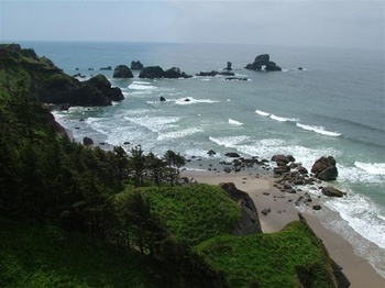 Ecola State Park at The Heathman Lodge.