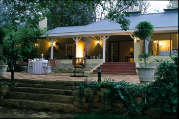 Exterior view of Jatinga Country Lodge.