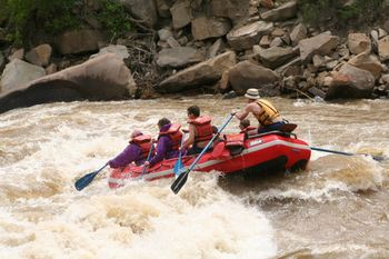 White Water Rafting at Willowtail Springs
