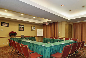 Meeting room at Cahilty Lodge.
