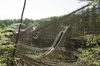 Thunderhead Coaster at Dollywood Cabins