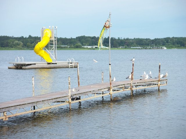 Lake view at Stony Point Resort.