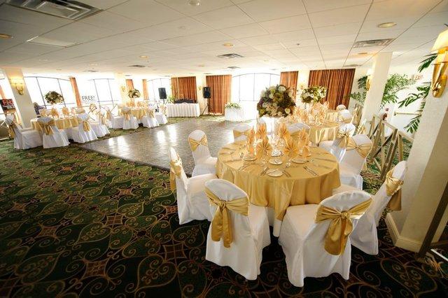 Receptions at Sirata Beach Resort.