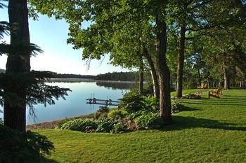 Lake view at Half Moon Trail Resort.