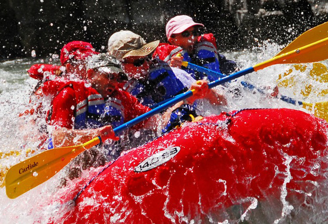 White Water Rafting at Parkway Inn