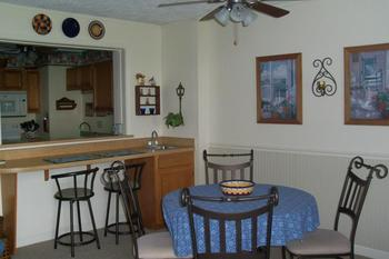 Guest kitchen at Sugar Ski and Country Club.