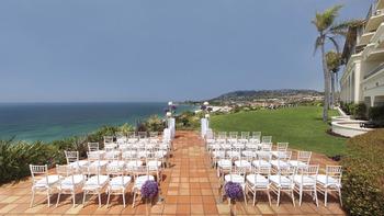 Wedding at The Ritz-Carlton, Laguna Niguel.