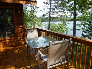 Escape to The Point Cabin for lakefront views in three directions, east, west, and south...spectacular!