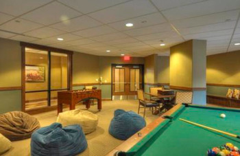 Game Room at Trailhead Lodge
