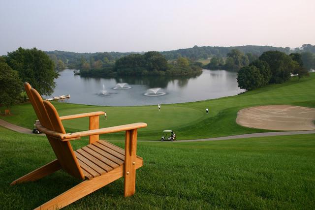 Golf course at Holiday Inn Club Vacations at Lake Geneva Resort.