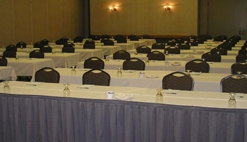 Conference room at Arrowwood Resort.