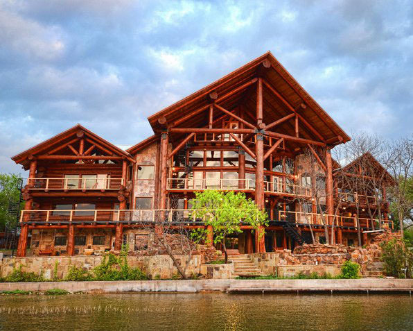 Exterior View of Log Country Cove