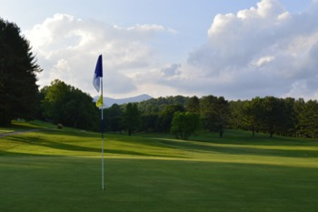 Black Mountain Golf Course near Greybeard Rentals.