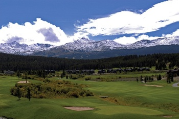 Breckenridge Golf Course near Grand Lodge on Peak 7.