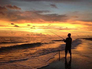 Fishing at Palm Island Resort.
