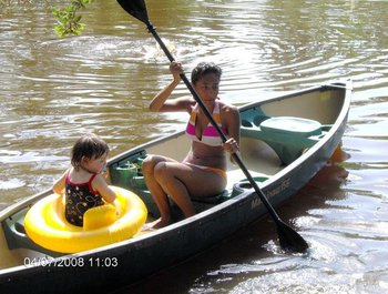 Canoeing at Berry Creek, LLC.