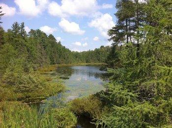 Lake Namakagon at Lakewoods Resort.