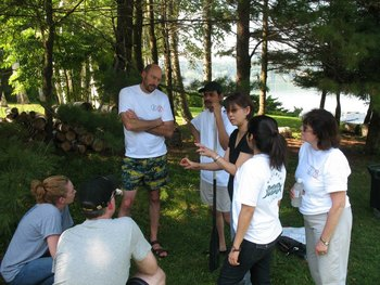 Team building at Interlaken Resort & Conference Center.