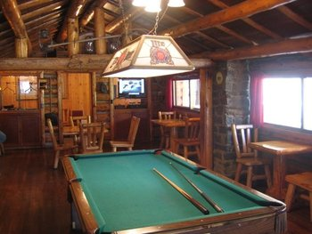 Pool Table at 320 Guest Ranch