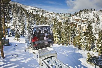 Ski lift at The Ridge Resorts.