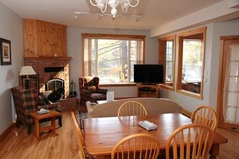 Cottage interior at Patterson Kaye Resort.