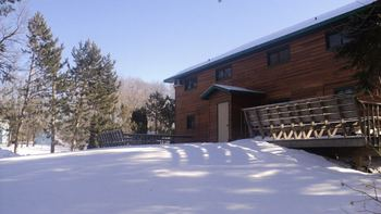 Winter time at McQuoid's Inn & Event Center.