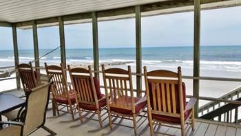 Rental porch at Litchfield Real Estate.