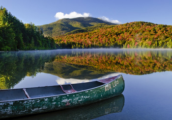 Stunning views of Lake Placid at Lake Placid Vacation Homes.