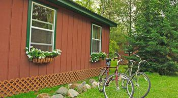 Outdoor activities at Moose Track Adventures Resort.