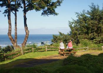 Scenic view at Ocean Crest Resort.